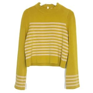 Anthropologie Moth Cropped Sweater M